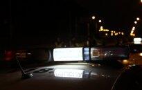 Naktį Vilniuje automobilis partrenkė iš BMW išlipusius du žmones