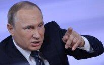 Politologas: V. Putinas per kvailumą parodė savo tikrąjį veidą