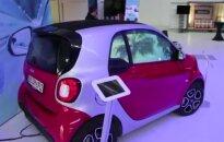Stiklo technologija Izraelyje: išjungus automobilio variklį languose pradedama rodyti reklamą