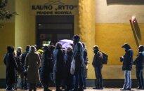 Nerami naktis Kauno tėvams: norintys, kad vaikai patektų į mokyklą, lauks per naktį