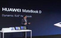 """""""Huawei pristatė naują nešiojamąjį kompiuterį"""