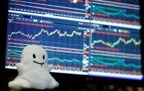 """Niujorko akcijų biržoje – įspūdingas """"Snap"""" debiutas"""