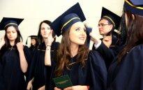 At the graduation