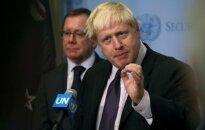 Iš B. Johnsono – griežti kaltinimai Rusijai