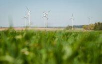 Wind power farms