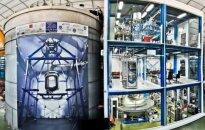 Jautriausias pasaulyje detektorius ėmėsi tamsiosios materijos: pirmieji rezultatai - daugiau nei įspūdingi