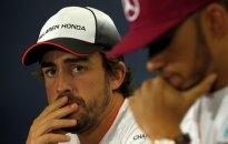 F. Alonso: sėkmės N. Rosbergui su tokiu komandos draugu