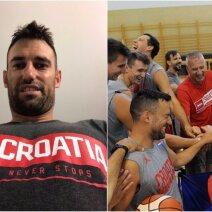 Marko Popovičius po šešerių metų pertraukos vėl žais Kroatijos rinktinėje