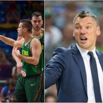 Lietuvos krepšinio rinktinė ir Šarūnas Jasikevičius