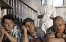 (iš kairės į dešinę): Georgijus Vicinas, Jurijus Nikulinas ir Jevgenijus Morgunovas filme Kaukazo belaisvė