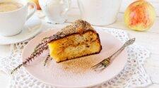 Obuolių pyragas, kurį tikrai pamils kavos mėgėjai