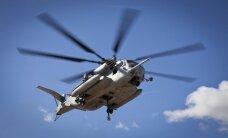 Po sraigtasparnių susidūrimo dingę JAV kariai paskelbti negyvais