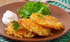Bulvinių blynų mėgėjams: 12 įdomiausių receptų