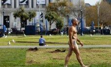 San Franciske nebebus toleruojami nuogaliai