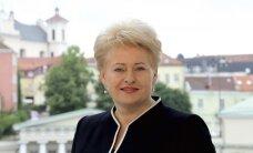 D. Grybauskaitė: moterys, kai nori, gali suderinti ir motinystę, ir darbą