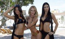 """Kaip """"Victoria's Secret"""" modeliai atrodo be makiažo"""