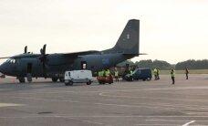 Į Palangos oro uostą kariškiai parskraidino itin brangų krovinį