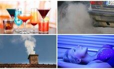 Sudarytas išsamus vėžio sukėlėjų sąrašas – kas dar puikuojasi greta mėsos ir rūkymo