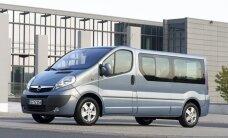 """""""Opel"""" ir """"Renault"""" paskelbė, kur gamins naujos kartos """"Vivaro"""" ir """"Trafic"""""""