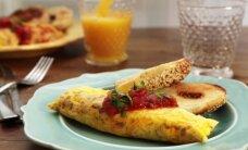 Neįprasta, bet paprasta idėja pusryčiams: omletas maišelyje