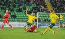 Olandijos futbolo pirmenybių rungtynėse V. Andriuškevičius buvo įspėtas