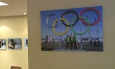 A. Pliadžio parodoje Vilniuje - 19 Sočio olimpiados lietuviškų akimirkų