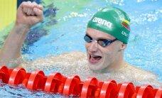 Įspūdingas startas: G. Titenis Europos čempionate pagerino Lietuvos rekordą ir plauks pusfinalyje