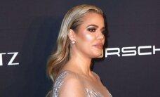 Šou turi tęstis: Khloe Kardashian užpakaliukas vos neišardė prabangios suknelės siūlių