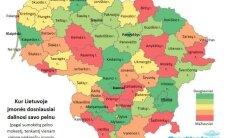 Kur Lietuvoje įmonės dosniausiai dalinosi savo pelnu