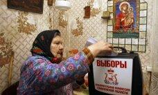 Apklausa: dauguma rusų nemano, kad prezidento rinkimai bus demokratiški