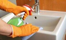 Tvarka namuose (II dalis): valymas be chemikalų