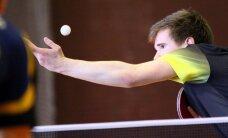 Lietuvos vyrų stalo teniso rinktinė pergale pradėjo Europos čempionatą