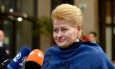 D. Grybauskaitė: Lietuvoje dar apsimoka sukčiauti, vogti ir vengti mokesčių