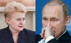 D. Grybauskaitė vyks į minėjimą, kur kvietimo nesulaukė V. Putinas