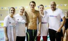 R. Meilutytės taurę laimėjo buvusio olimpiečio šeima