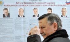 Rusijos piliečiai užsienyje per prezidento rinkimus balsuoja aktyviau negu renkant Dūmą