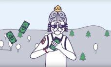 """""""Šventinis bankuchenas"""": vyrukas iš pogrindžio """"YuoTube"""" legenda tapo per dieną"""
