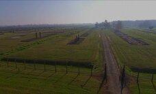 Aušvico koncentracijos stovykla iš paukščio skrydžio