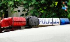 Garliavoje susidūrė 5 automobiliai, trys iš jų - policijos