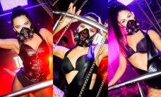 Klubo vakarėlyje gundė pavojingai atrodančios šokėjos