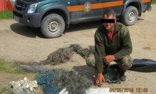 Važiavę pirkti subrakonieriautos žuvies aplinkosaugininkai surado tinklų arsenalą