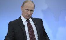 V.Putinas parašė straipsnį apie Rusijai mestus iššūkius