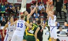Lietuva iškovojo dramatišką pergalę prieš Estiją: varžybų akimirkos