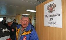 Kaliningrado srityje balsuojama ir sausumoje, ir jūroje, klastojimo tikimasi ne rinkimų apylinkėse