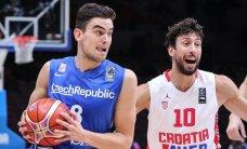Viena favoričių Kroatija beviltiškai krito prieš čekus