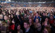 """Tiek žmonių """"Siemens"""" arenoje jau seniai nebuvo: Eros Ramazzotti pavergė lietuvių širdis"""