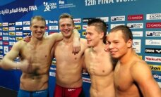 Europos plaukimo čempionatą Lietuvos rinktinė užbaigė rekordiniu tempu finale