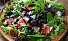 Gurmaniškos salotos norintiems sulieknėti