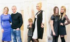 Sandra ir Darvydas Šernai, Natalija Bunkė su sūnumi Kristupu, Rūta Mikelkevičiūtė su dukra Dominyka