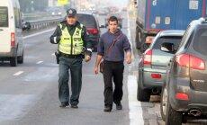 Policijos reidas Karmėlavoje